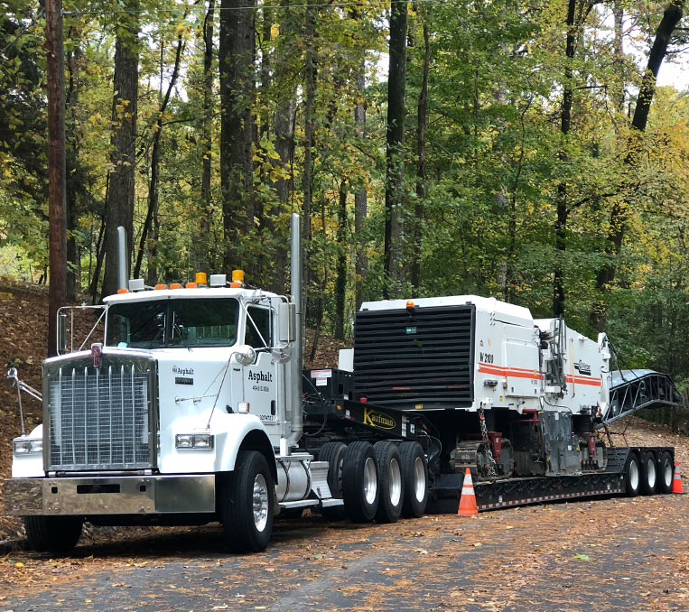 Asphalt Milling Truck | REO Enterprises Asphalt & Concrete Milling Atlanta, GA